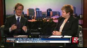 MorningLine: Measles Outbreak & Vaccines P.2 [Video]