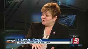 MorningLine: Measles Outbreak & Vaccines P.1 [Video]