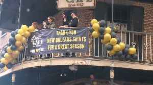 New Orleans Saints Fans Party During 'Boycott Bowl' [Video]