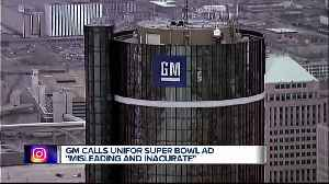 Canadian auto workers union runs Super Bowl ad protesting GM job cuts [Video]