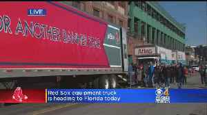 Truck Day Arrives: Red Sox Load Up For Spring Training [Video]
