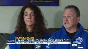 Parents of Deputy Micah Flick speak publicly for first time since his death [Video]