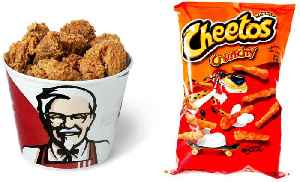 KFC's New Cheetos-Filled Sandwich Is a Glorious Nightmare [Video]