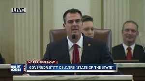 Watch: Gov. Stitt delivers first State of the State address [Video]