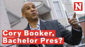 Cory Booker Could Become America's Third Bachelor President [Video]