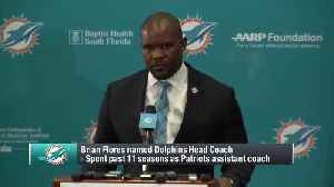 Miami Dolphins head coach Brian Flores addresses the media for first time as Dolphins HC [Video]