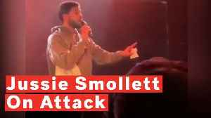 Jussie Smollett Clears Up Details In First Show Since Attack [Video]