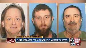 Quadruple murder suspect charged with capital first-degree murder in deaths of wife's family [Video]