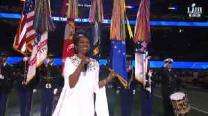 Gladys Knight Performs the National Anthem [Video]