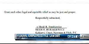 Federal employees file lawsuit [Video]