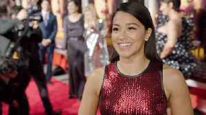 A Smiling And Shining Gina Rodriguez At The Red Carpet 'Miss Bala' Premiere [Video]