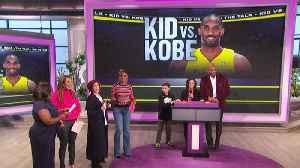 The Talk - Kobe Bryant Makes Young Fan's Dream Come True on 'The Talk' [Video]