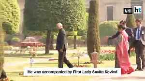 President Kovind visits Mughal Garden before it opens to public [Video]