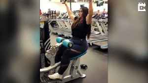 Stunning fitness fanatic looks unrecognisable after dropping 13 stone [Video]