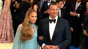 Jennifer Lopez posts adoring message to Alex Rodriguez on their second anniversary [Video]