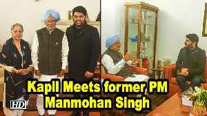 Kapil Sharma MEETS Former PM Manmohan Singh [Video]