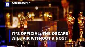 It's Official: The Oscars Will Air Without a Host [Video]