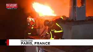 At least ten killed in Paris building fire [Video]