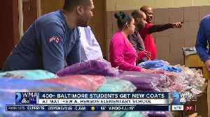 Trade Unions arrange coat drive at West Baltimore elementary school [Video]