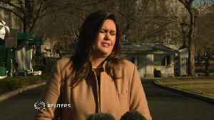 """Inaugural probe """"nothing to do with WH"""": Sanders [Video]"""