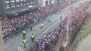 Boston Police Nail Field Goal Kick During Patriots Parade on Tremont Street [Video]