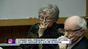 Hearing starts to see if ex-MSU president Simon will face trial [Video]