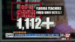 FL Governor vows to look into teacher certification issues and fix