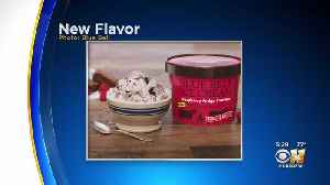 Blue Bell Introduces New Raspberry Fudge Brownie Ice Cream [Video]