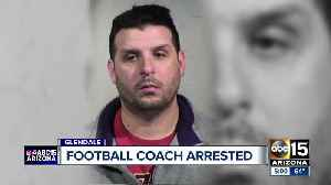 Mountain Ridge football coach arrested for trying to lure a minor for sexual exploitation [Video]