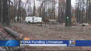 Paradise Residents Living In RVs On Burned Properties May Be Forced To Move [Video]