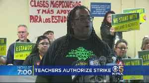 Oakland Teachers Vote Overwhelmingly To Authorize Strike [Video]