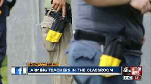State senate group calls for teachers to join 'Guardian program' at public schools [Video]