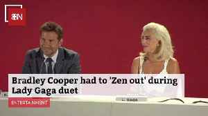 Bradley Cooper Is Nervous About Doing 'Oscars' Duet With Lady Gaga [Video]