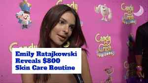 Emily Ratajkowski Has An 800 Dollar Skin Care Routine And It's Worth Every Penny [Video]