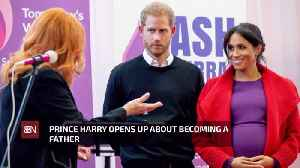 Prince Harry Talks About Becoming A Dad [Video]