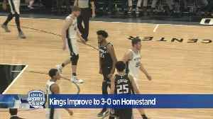 Kings Improve To 3-0 On Homestand [Video]