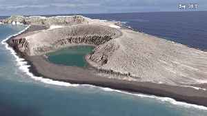 New Volcanic Island Forms in South Pacific [Video]