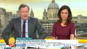 Piers Morgan Condemns Liam Neeson For 'Staggeringly Racist' Interview Comments [Video]