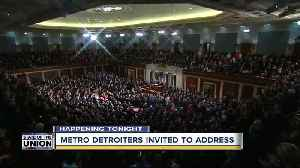 Metro Detroiters invited to State of the Union [Video]
