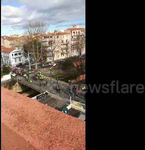 Gilets Jaunes protest in southern France [Video]