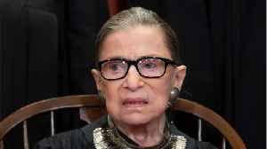News video: Supreme Court Justice Ruth Bader Ginsburg Appears In Public
