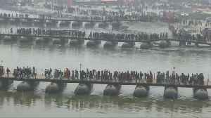 Camps set up to reunite 50,000 separated pilgrims at India's Kumbh Mela festival [Video]