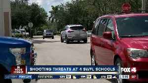 Four shooting threats at four schools in Southwest Florida [Video]
