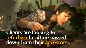 Soviet-era furniture gets new lease of life among younger Russians [Video]