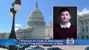 6th Grader From Wilmington To Be Special Guest At State Of Union Address [Video]