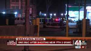 1 dead in shooting at 17th and Grand [Video]