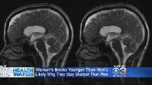 Study Finds Women's Brains Are 3 Years Younger Than Men's Brains [Video]
