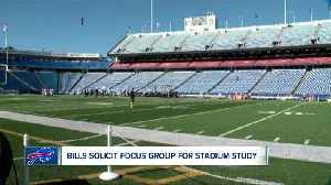 Bills send stadium focus group invitation to select fans [Video]
