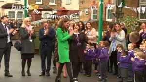 Hear Kate Middleton Share The Sweetest Thing That 'Makes Her Feel Happy' During School Visit [Video]