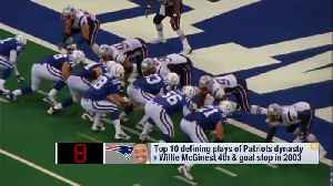 'Good Morning Football' discusses 10 best plays of the New England Patriots' Tom Brady-Bill Belichick era [Video]